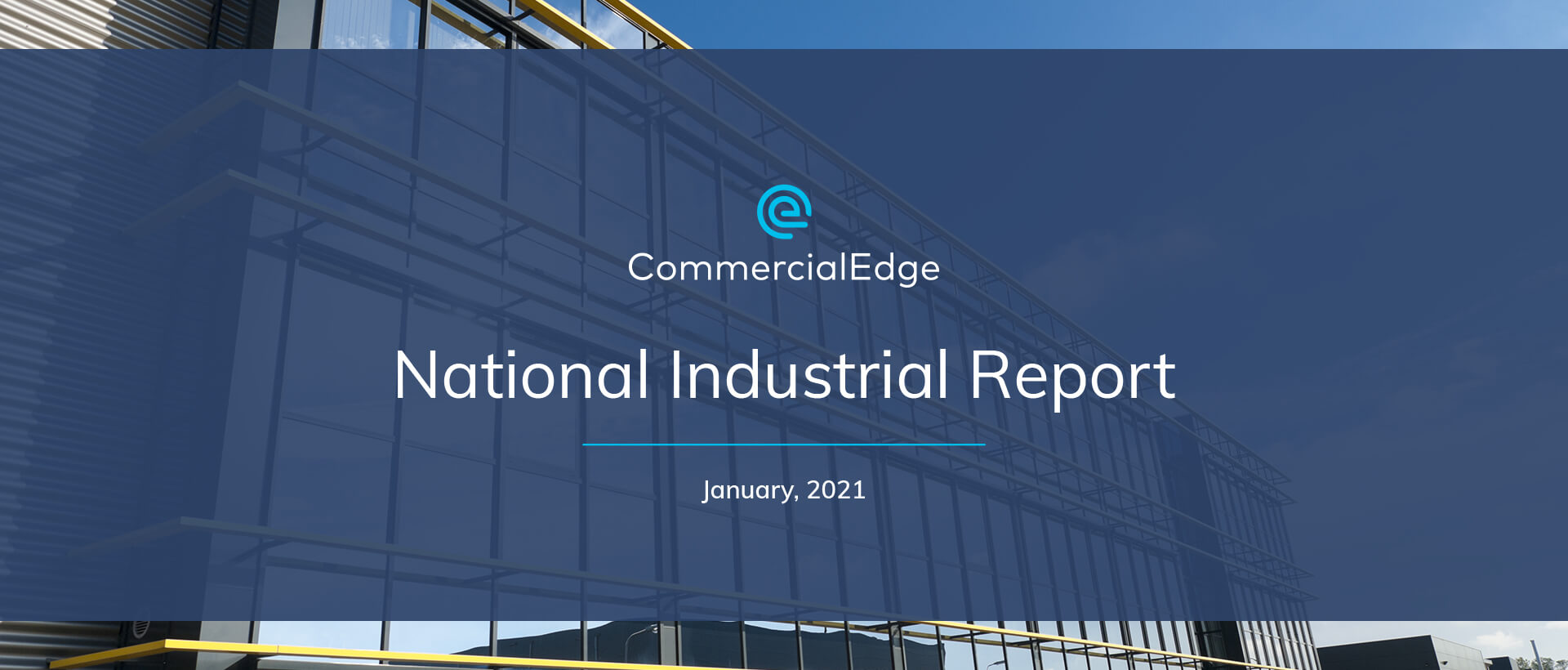 CommercialEdge National Industrial Report January 2021